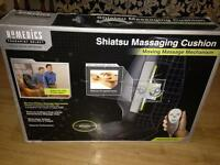 Homedics shiatsu massaging chair