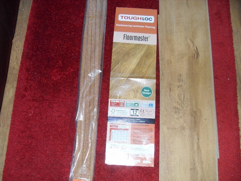 Floormaster Toughloc Harvester Oak Laminate Floor