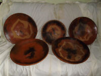LARGE CLAY PLANTERS / BOWLS