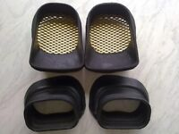 gsxr srad 600 750 full set ram air rubbers, front,back,left and right.