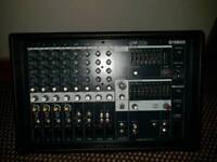Yamaha emx 600 watt mixer amp totally as new used twice 12 channels full on board effects