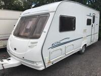 Eccles sterling 2006 4 berth with motor mover touring caravan