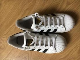Adidas Superstars UK Size 3