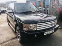 "LAND ROVER RANGE ROVER VOGUE 2.9 TD6 SE AUTOMATIC PRIVATE PLATE 2004 PRIVACY GLASS 22"" ALLOYS"