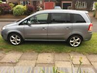 Vauxhall zafira 7 seats new MOT