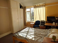 Large double bedroom for a couple in house share