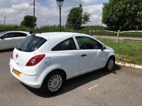 3 Door 1l White Vauxhall Corsa for sale