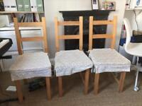 Ikea kitchen chairs x3