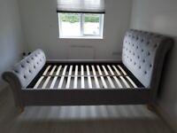 Habitat Harrogate Double Bed and Mattress