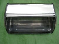 Stainless Steel Bread Bin for £4.00