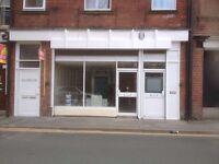 Retail premises, ground floor 1500 sq ft