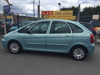 Citroen Picasso desire 1600 diesel 80000 full history ful years mot great family car fully serviced