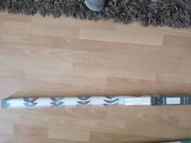 Leaves pattern Roller blind width 91cm drop 170cm