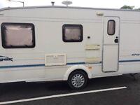 4 berth bailey ranger 2005 caravan