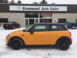 2016 Mini 3 Door Cooper 2 DOOR COUPE, LEATHER, NAVI
