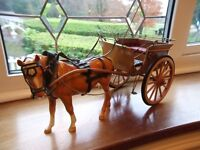 Beswick Horse and carriage