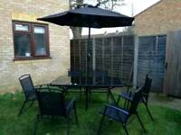 8 piece garden furniture set