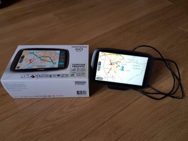 TOMTOM GO 6100 - Live traffic, Lifetime maps and speed cameras   in  Cambridge, Cambridgeshire   Gumtree