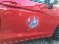Mobile car body repair