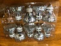 GU10 LED bulbs x 9 : Warm White