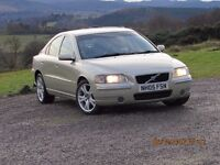 2005 VOLVO S60 D5 SE MANUAL, MOT TO 11/17 now reduced due to cracked windscreen today