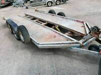 VERY SOLID RECOVERY CAR TRAILER
