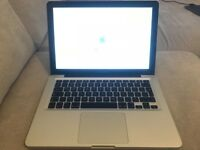 MacBook Pro (13-inch, Mid 2012) - 2.9GHz Inter Core i7 Processor / 8GB Memory / 750GB Storage