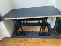 Vintage drafting desk