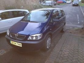 Vauxhall Zafira automatic for Sale