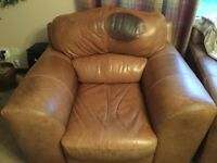 Leather chair for sale.