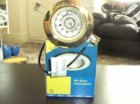 FOR SALE BRASS DOWNLIGHTERS