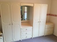 5 Piece Bedroom Furniture Set £70