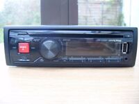 ALPINE CDE -170RR CAR STEREO & CD RECIEVER with USB/MP3/WMA/AAC