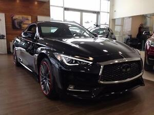 2017 Infiniti Q60 Coupe COUPE RED SPORT 400HP - AWD -  ENSEMBLE