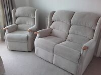Celebrity Westbury fixed armchair and 2 seater settee