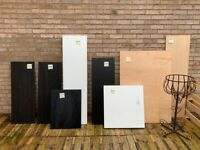 Ikea boards and Plywood boards