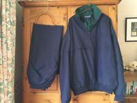 Sunderland waterproof jacket and trousers