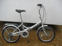 """2 RALIEGH """"ECLIPSE"""" LIGHTWEIGHT FOLDING PUSH BIKES reduced to sell"""