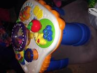 Assortment of toys for baby and toddler
