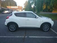 Excellent condition, Nissan Juke in white