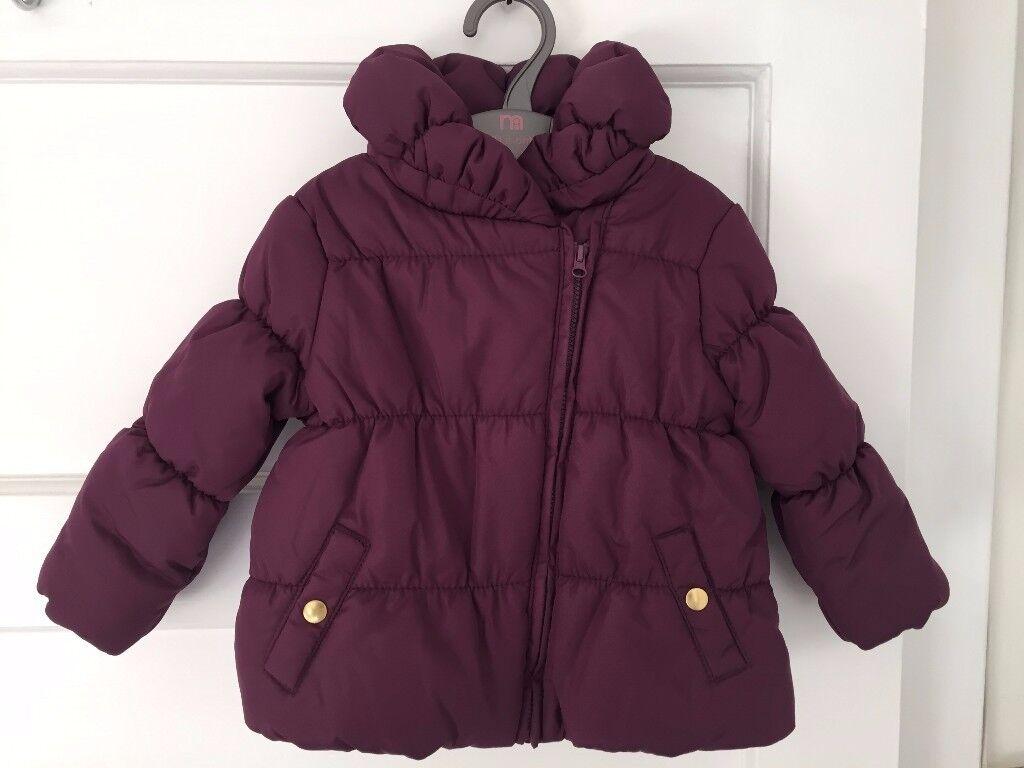 Brand new baby girl padded coat 9-12 months