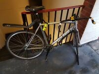 Specialized langster- Silver fixed gear bicycle