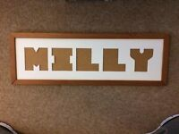"""""""MILLY"""" PICTURE FRAME"""