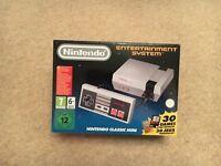 Nintendo Classic Mini, Brand New, Boxed, Unopened, £99, Glasgow, Summerston.