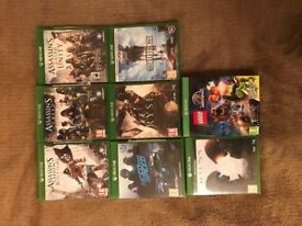 Xbox One 1st gen 500GB (+8 games)