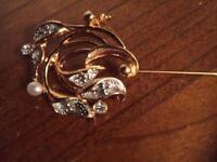Ladies designer brooch