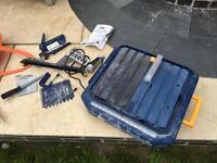 Mac allister wet tile saw 550w 240v 110mm