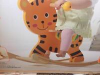 Wooden tiger rocker
