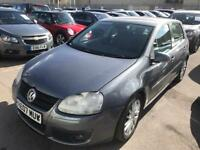 2007 Volkswagen Golf GT TDCI IMMACULATE DIESEL MOT £50 Tax. DigitalDash VW History