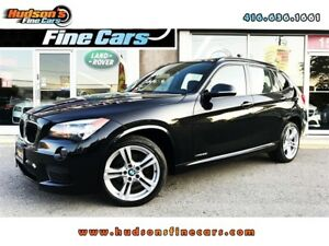 2014 BMW X1 xDrive28i|M-SPORT|LEATHER SUNROOF|PANO SUNROOF